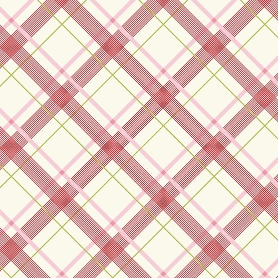Denyse Schmidt Five and Ten - Wafer Plaid (Pink)