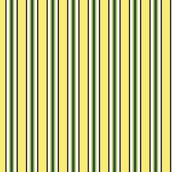 Denyse Schmidt Five and Ten - Candy Stripe (Yellow)