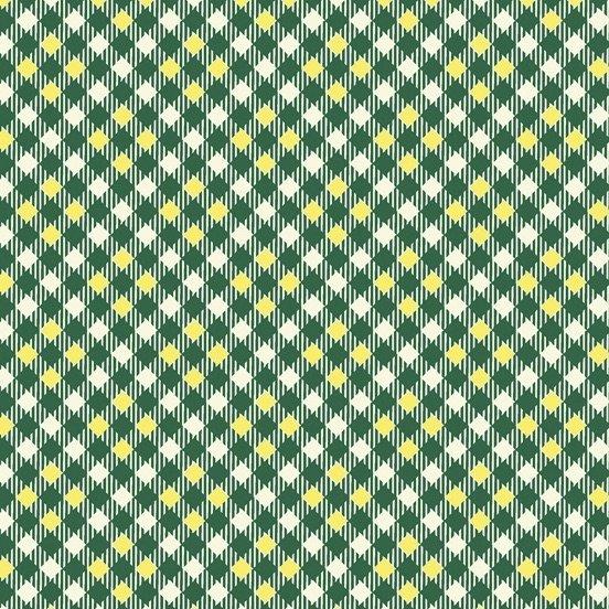 Denyse Schmidt Five and Ten - Pixy Plaid (Dark Green)