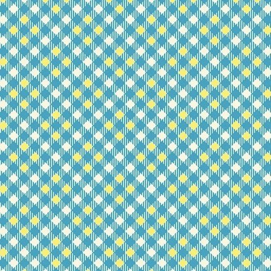 Denyse Schmidt Five and Ten - Pixy Plaid (Blue)