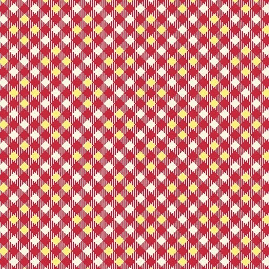 Denyse Schmidt Five and Ten - Pixy Plaid (Red)