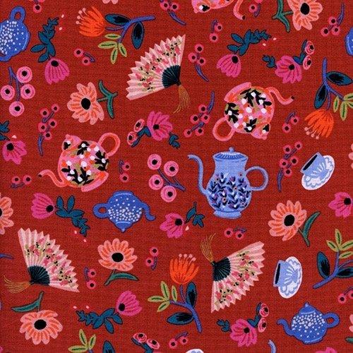 Rifle Paper Wonderland - Garden Party (Crimson)