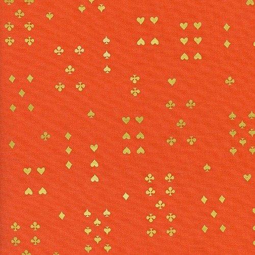 Rifle Paper Wonderland - Follow Suit (Orange Metallic)