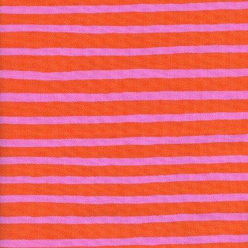 Rifle Paper Wonderland - Cheshire Stripe (Orange)