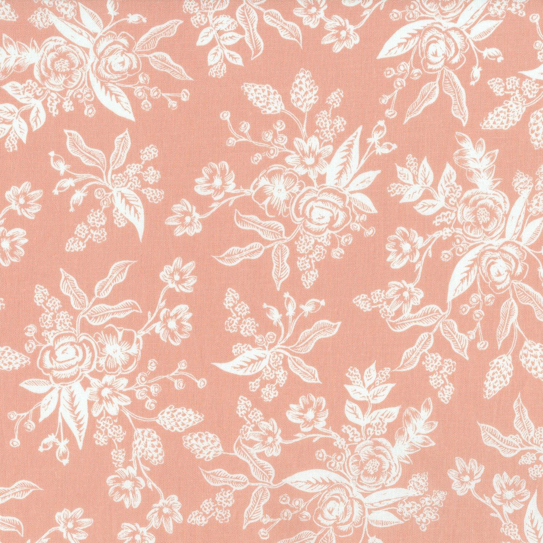 Rifle Paper English Garden - Toile (Peach)
