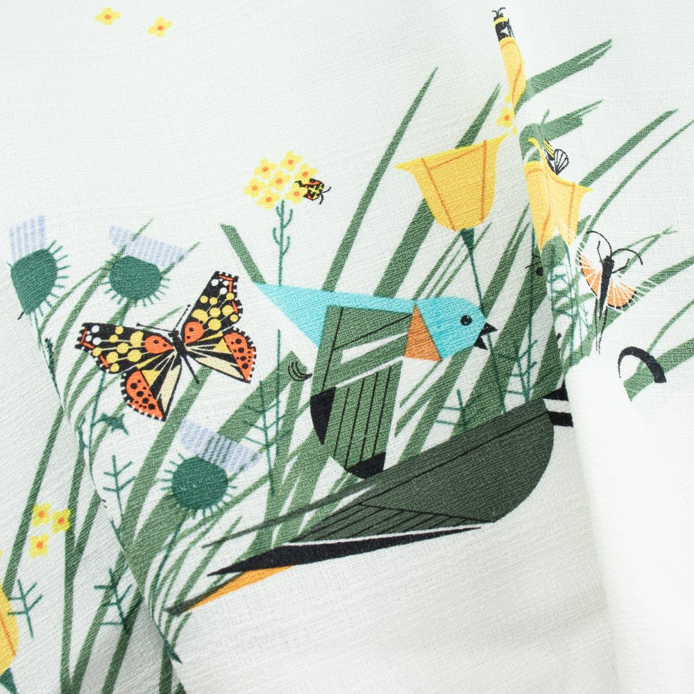 Charley Harper Barkcloth 2021 - Once There Was A Field