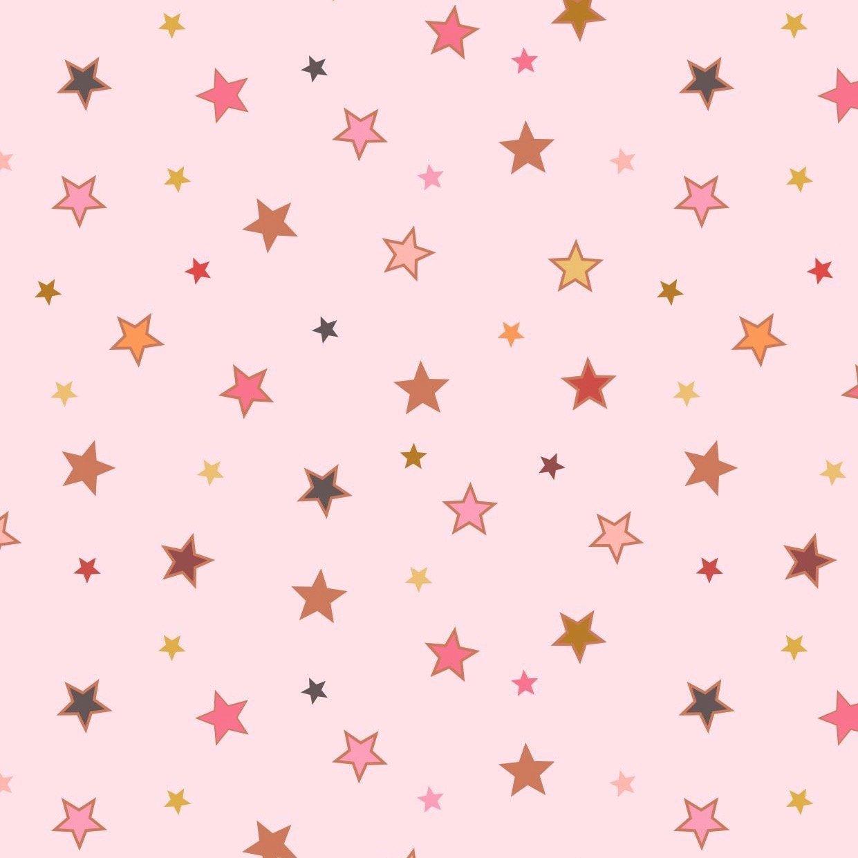 Lewis & Irene Rainbows - Calming Stars (Pink Metallic)
