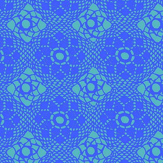 Alison Glass Sun Print 2021 - Crochet (Lake)
