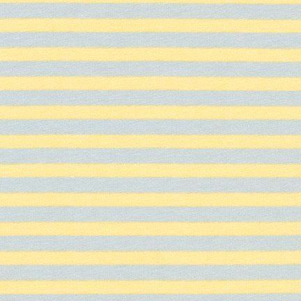 Carolyn Friedlander Blake Cotton Jersey - Stripes (Blue)