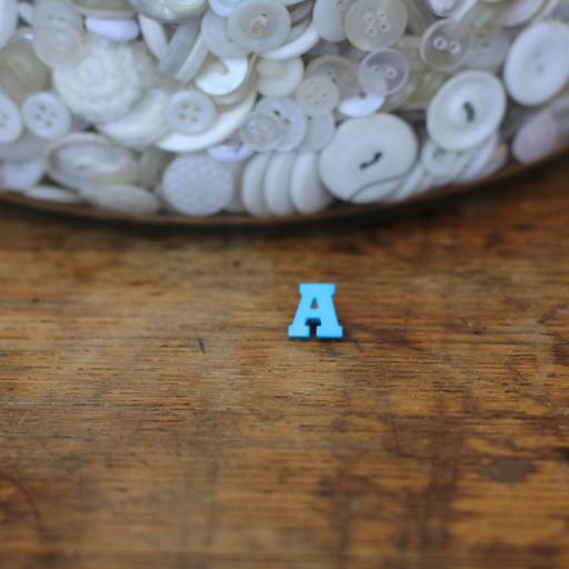 Alphabet Button - A