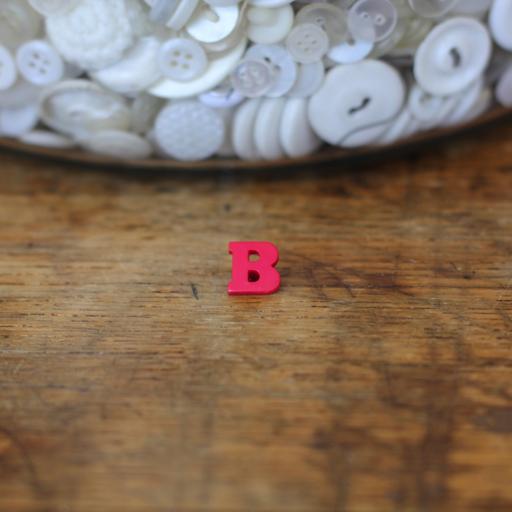Alphabet Button - B