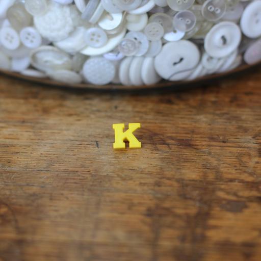 Alphabet Button - K