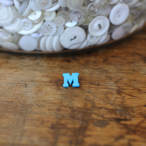 Alphabet Button - M