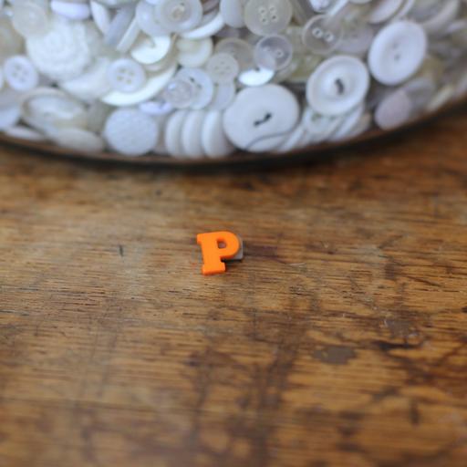 Alphabet Button - P