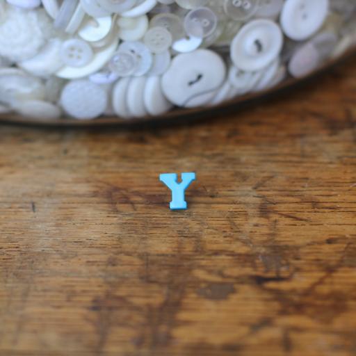 Alphabet Button - Y