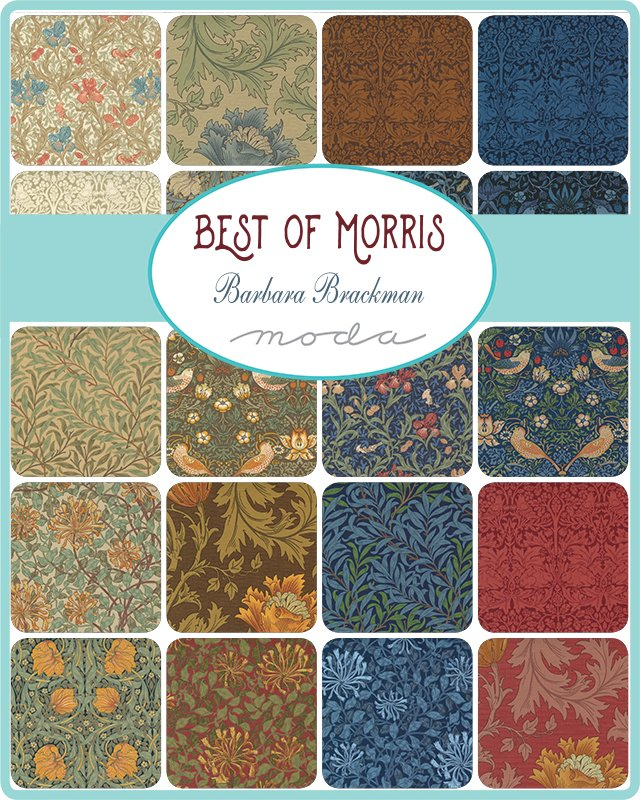 Coming Soon! Barbara Brackman's Best of Morris 2021