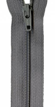 14-inch YKK Zipper (Grey Kitty)