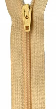 14-inch YKK Zipper (Buttercream)