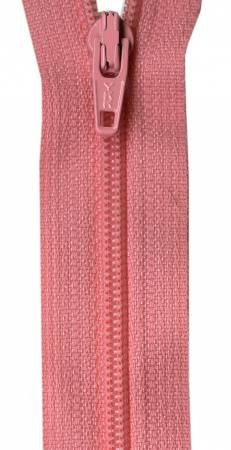 14-inch YKK Zipper (Pink Frosting)