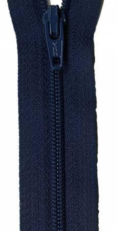 14-inch YKK Zipper (Navy Blue)