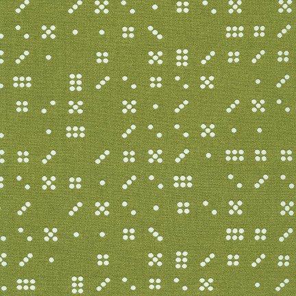 Violet Craft Modern Classics - Domino Dots (Olive)
