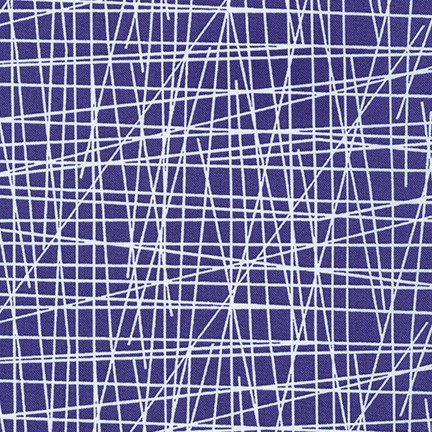 Violet Craft Modern Classics - Lines (Bright Periwinkle)