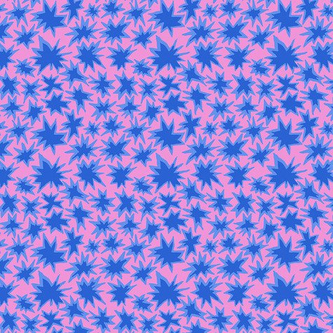 Kaffe Fassett Collective Spring 2019 - Bang (Lavender)