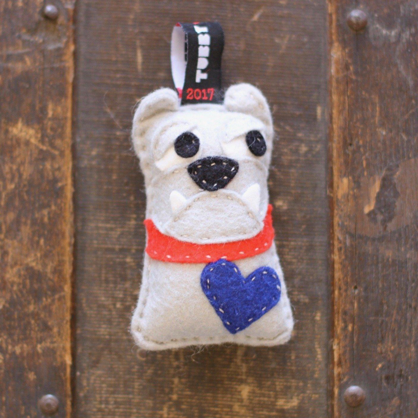TubbyWubby Stitch & Stuff Critter Kit - Barry the Bulldog