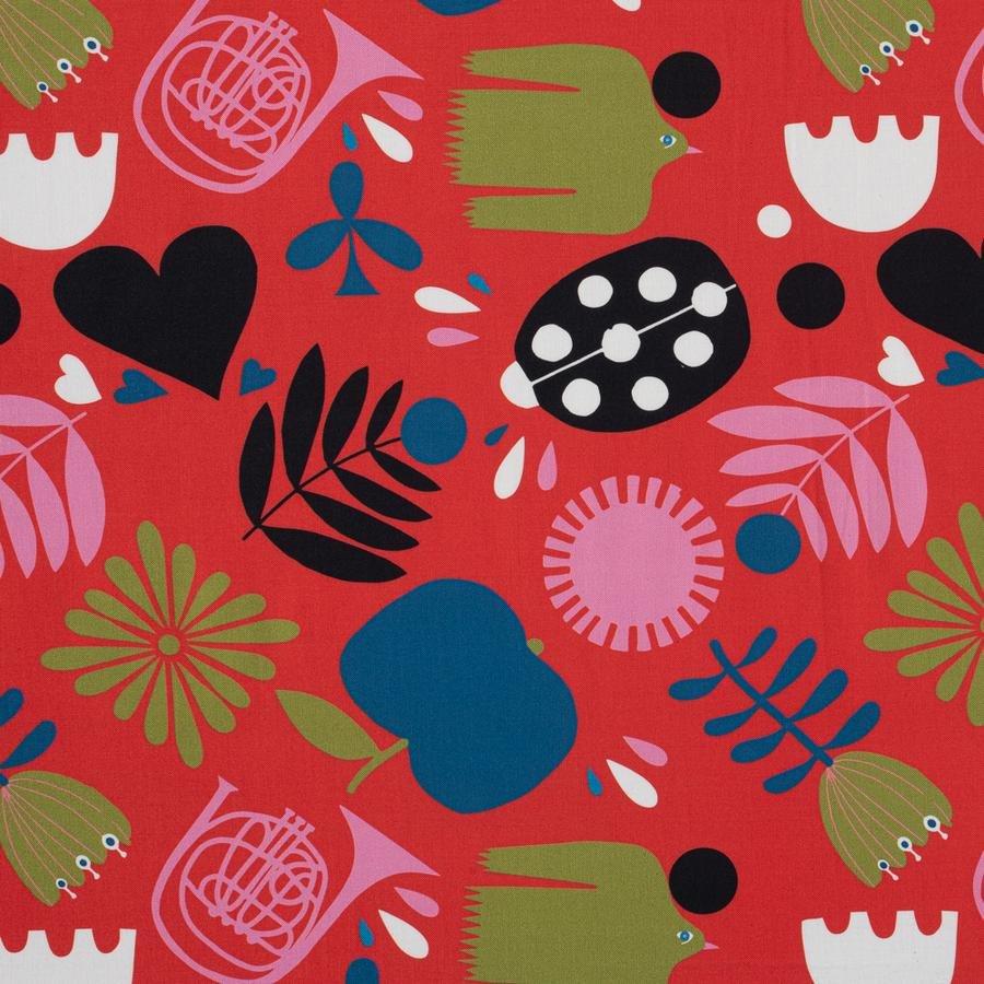 Lisa Congdon Beetle (Red)