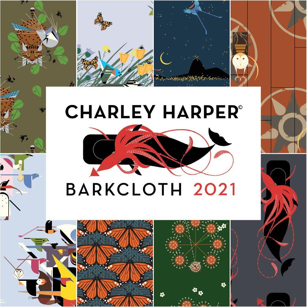Coming Soon! Charley Harper Barkcloth 2021