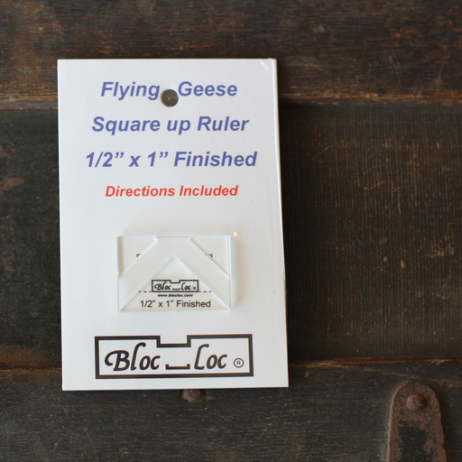 Bloc Loc - Flying Geese Ruler (1/2 x 1)