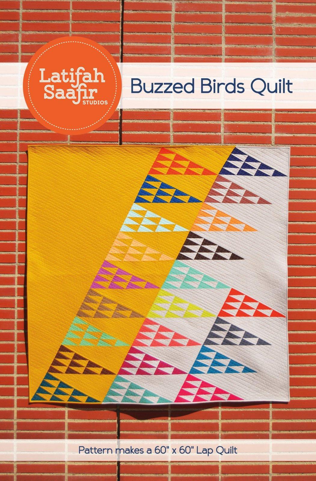 Buzzed Birds Quilt Pattern
