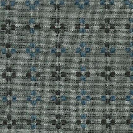 Diamond Textiles Basket Weave - Pluses and Crosses (Medium Grey)