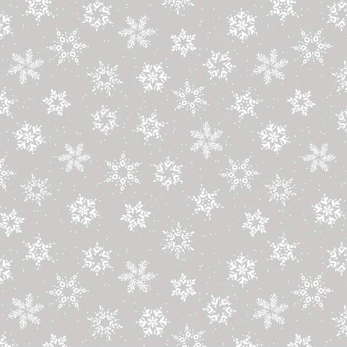 Amanda Castor Winterland - Snowflakes (Gray)