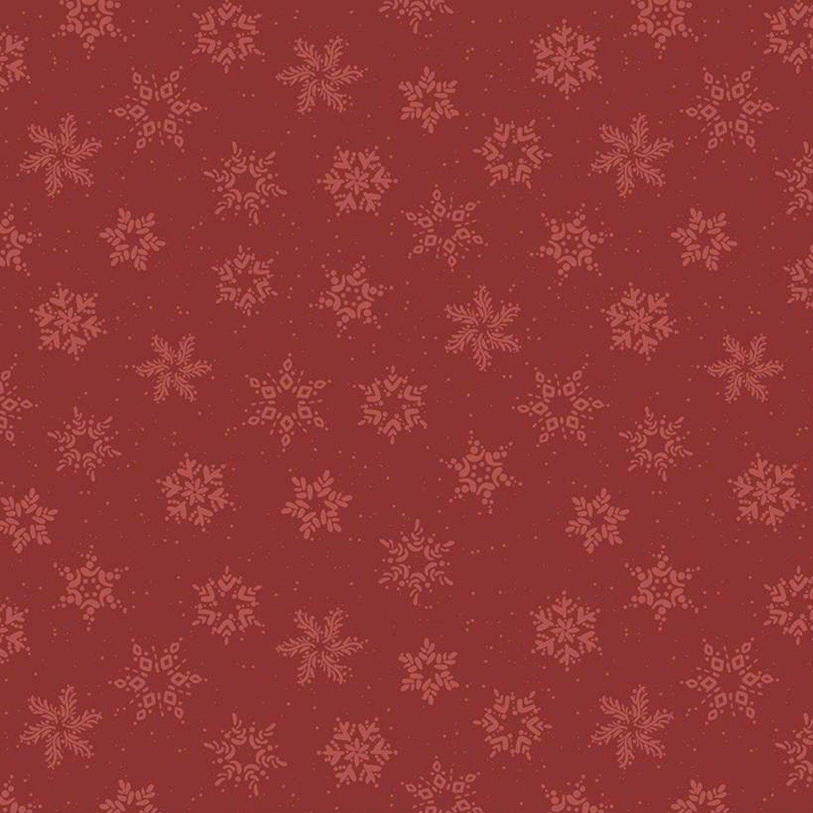 Amanda Castor Winterland - Snowflakes (Red)
