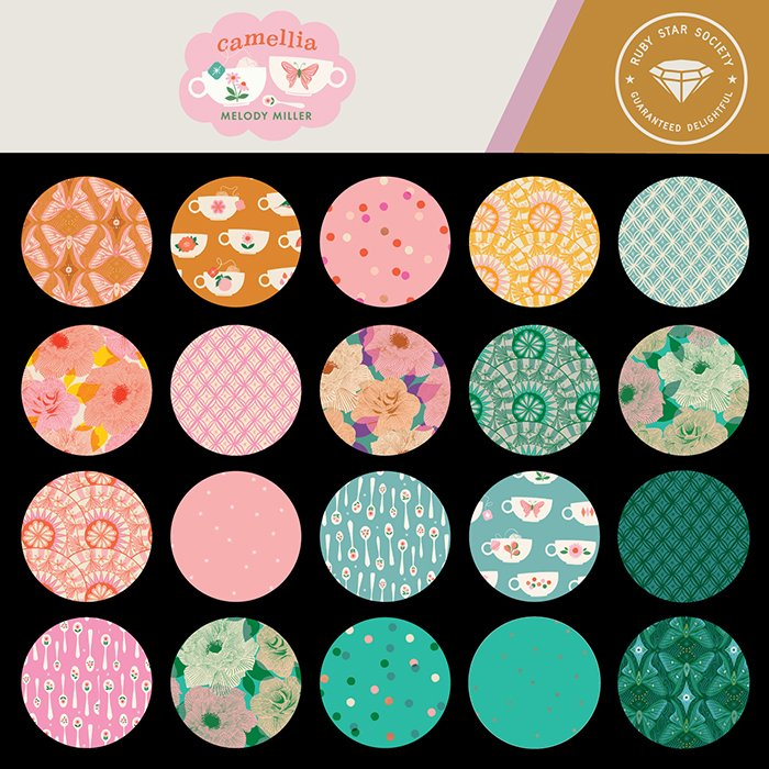 Coming Soon! Camellia by Melody Miller for Ruby Star Society