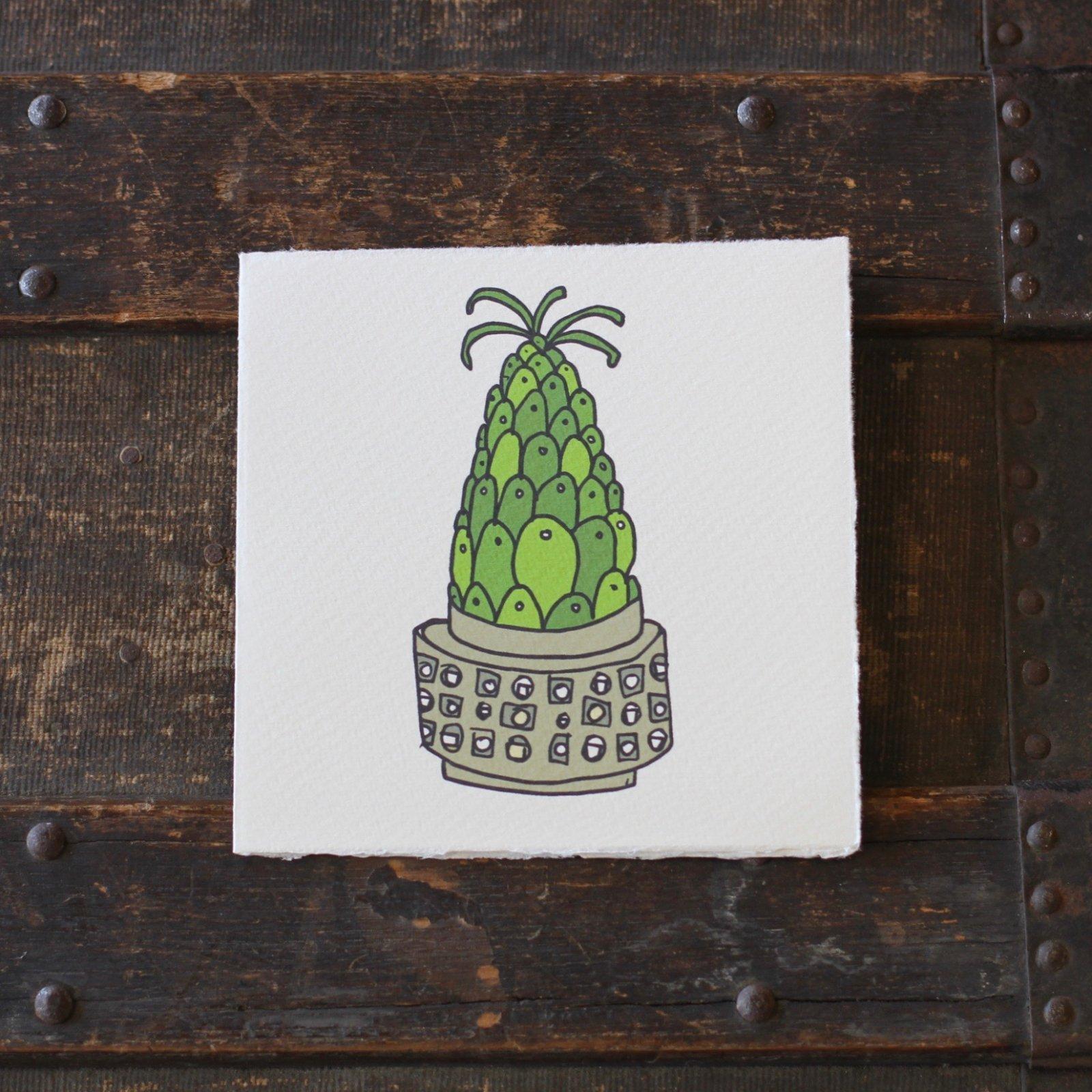 Scandia Vase Card