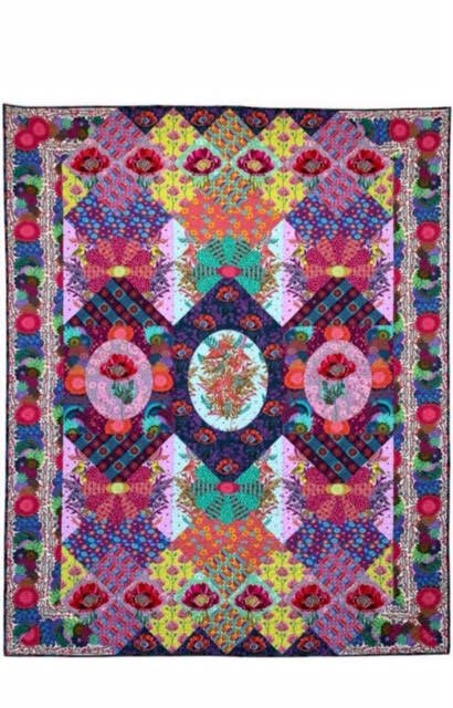 Coming Soon! Anna Maria Horner Visions Quilt Club Kit