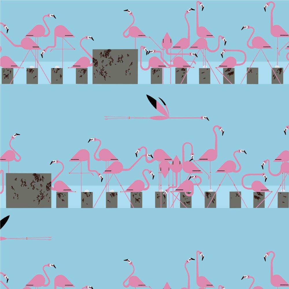 Charley Harper Summer - Think Pink!