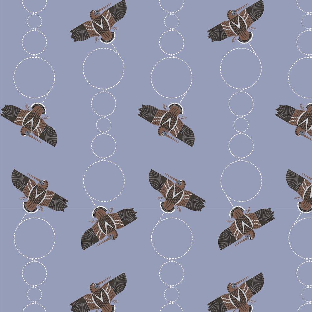 Charley Harper Lakehouse Vol. 1 - Amorously Airborne (Blue)