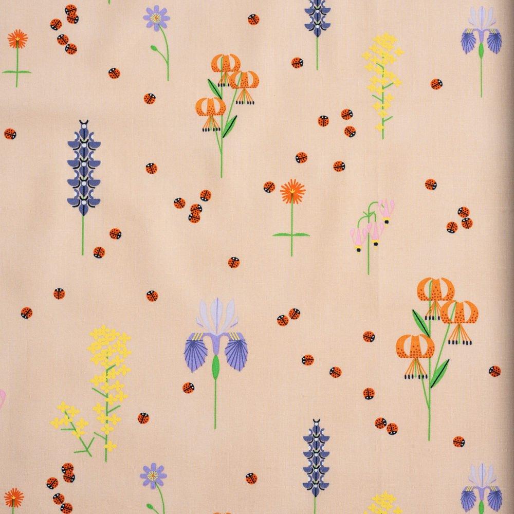 Charley Harper Sierra Range - Sierra in Bloom (Orange)