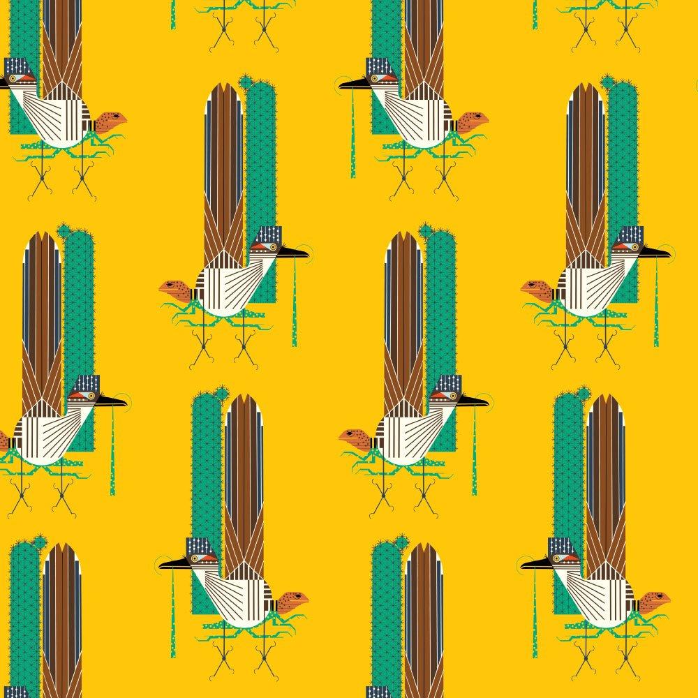 Charley Harper Summer Vol. 2 - Roadrunner (Yellow)