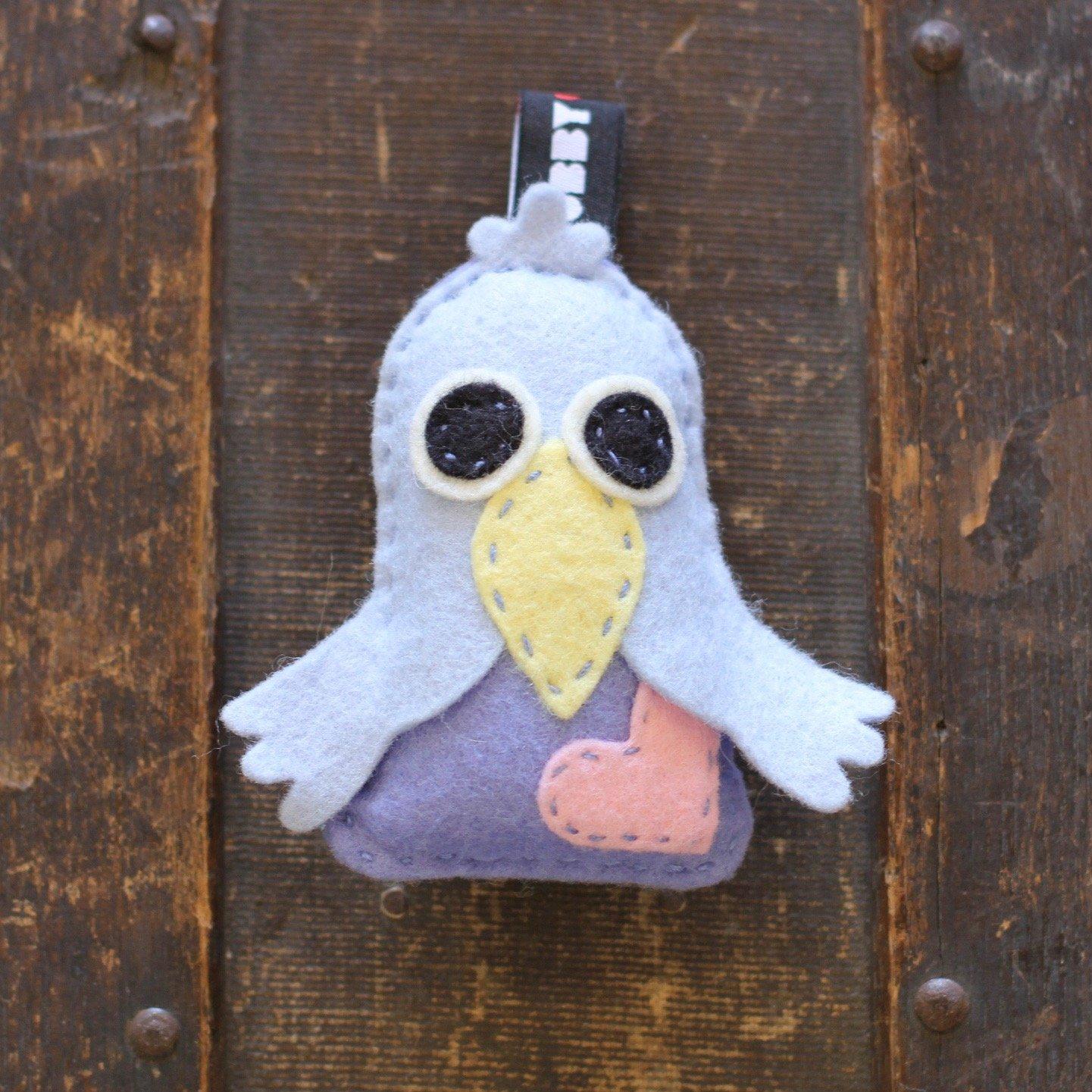 TubbyWubby Stitch & Stuff Critter Kit - Chip the Bluebird
