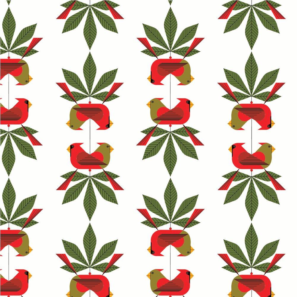 Charley Harper Holidays 2020 - Cardinal Consort