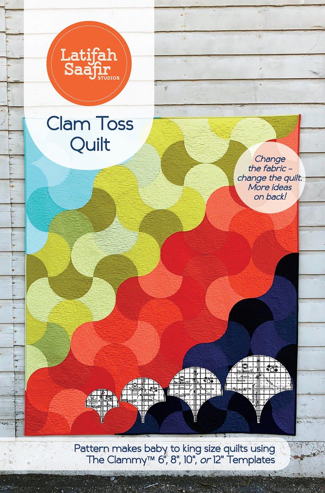 Clam Toss Quilt Pattern