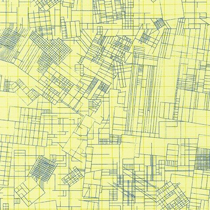 Carolyn Friedlander Collection CF - Gridlock (Yellow)