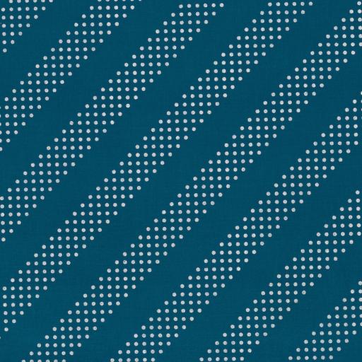 Cotton + Steel Basics - Dottie (Night Owl/Silver)