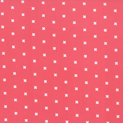 Cotton + Steel Basics - XOXO (Pink Cheeks)