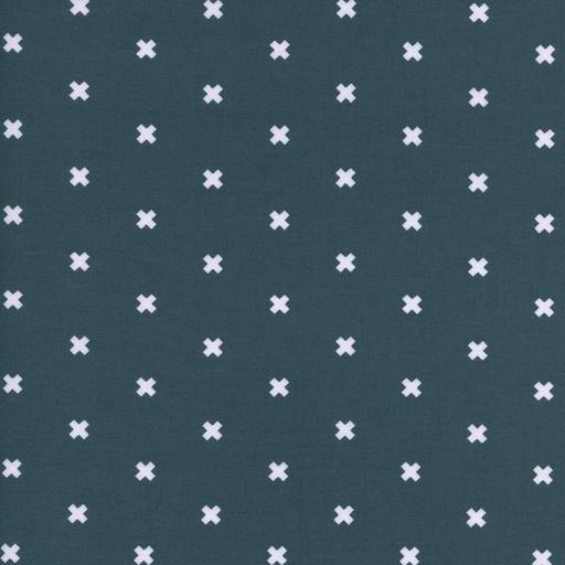 Cotton + Steel Basics - XOXO (Sea Monster)