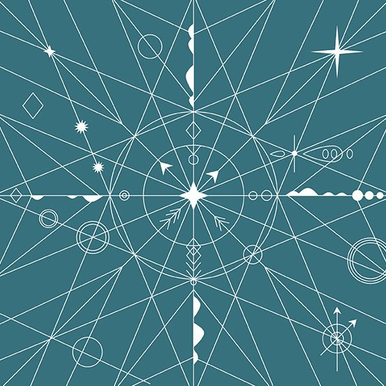 Alison Glass Hopscotch - Compass (Isle)